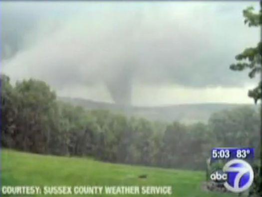 Wantage 2009 tornado