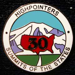 30 State Enameled Pin – Awards are for current club members only