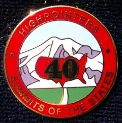 40 State Enameled Pin – Awards are for current club members only