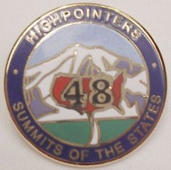 48 State Enameled Pin – Awards are for current club members only