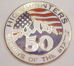 50 State Enameled Pin – Awards are for current club members only