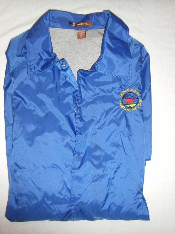 Adult Blue Highpointers Windbreaker
