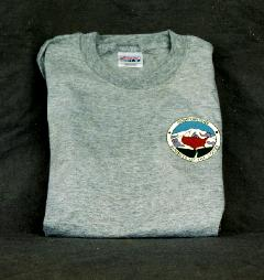 T-Shirt – Gray with small Club logo on Front