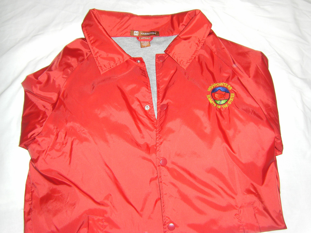 Adult Red Highpointers Windbreaker