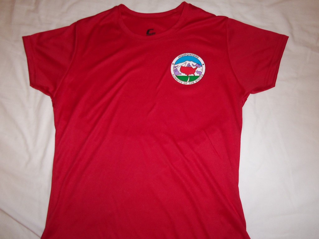 T-Shirt – Red with small Club logo on Front – Dri-Fit Adult