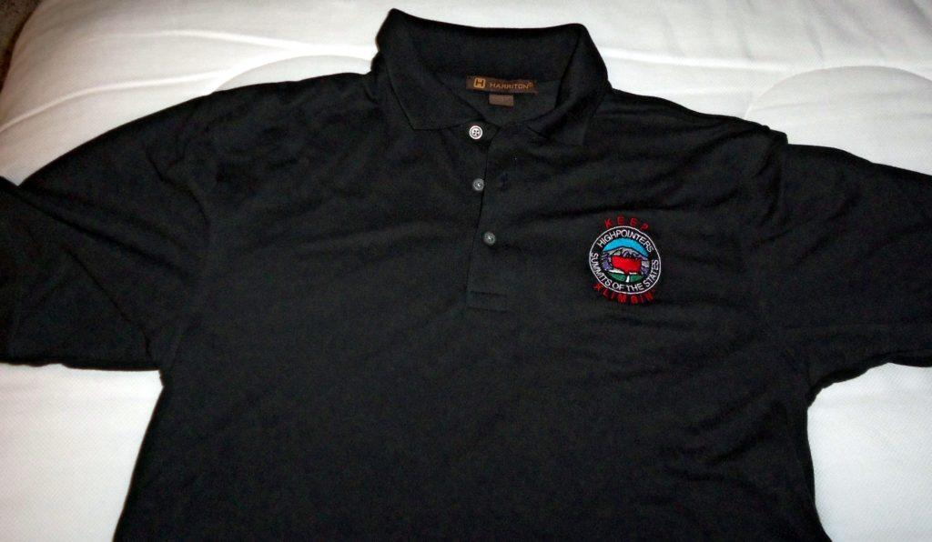 Black Polo Shirt with Club logo