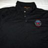 Black Polo Shirt with Club logo
